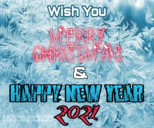 Wish you merry christmas and happy new year 2021 quotes images HD