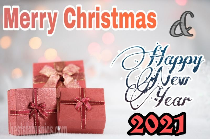 Merry Christmas And Happy New Year 2021 Wishes Images Best Status Pics