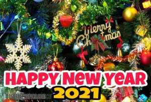 wish for merry christmas and happy new year 2021 images HD for Facebook status