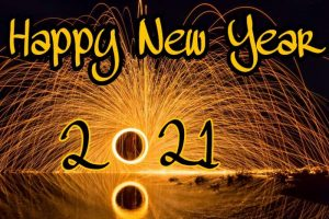 happy new year 2021 pic HD with fireworks for friends