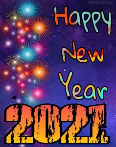 Cute happy new year 2021 everyone for Whatsapp profile image