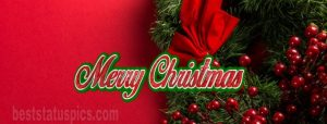 beautiful merry christmas 2021 cover pic for facebook timeline
