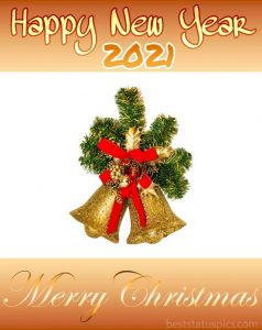 Beautiful merry christmas and happy new year 2021 greeting cards for Whatsapp