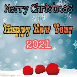 merry christmas and happy new year 2021 greetings images HD for Facebook story
