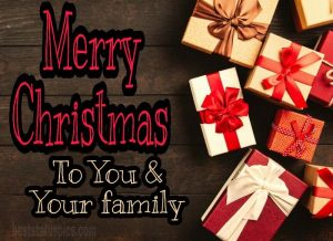 merry christmas 2021 to you and your family quotes and text with images