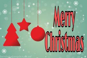 merry christmas 2021 wishes quotes with images of stars and balls