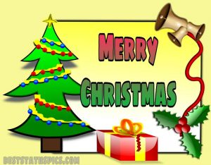 merry christmas 2021 wishes with cartoon photo and gifts for best friend