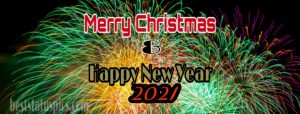 Merry Christmas and happy new year 2021 images for facebook cover and story