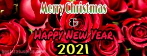 Merry Christmas and happy new year 2021 wishes photo for facebook timeline