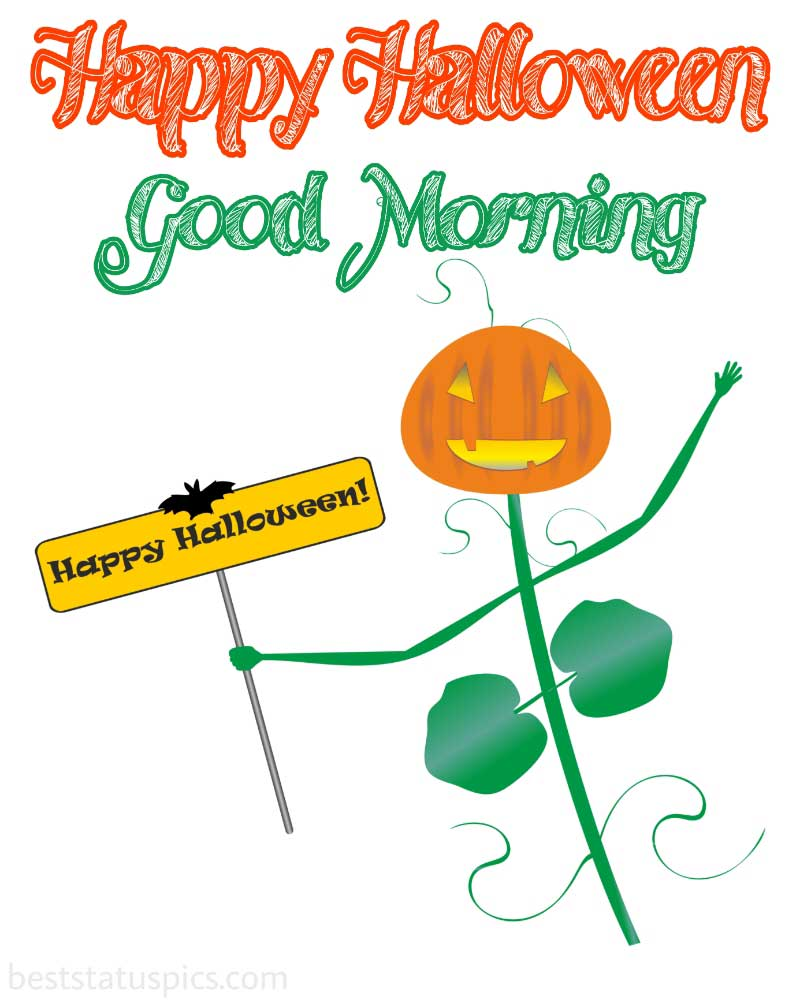 good morning halloween 2021 picture