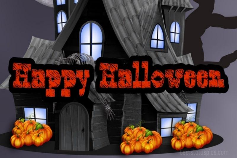 happy halloween 2021 wishes wallpaper