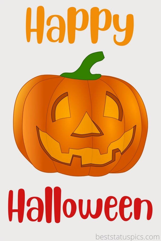 happy halloween 2021 clipart