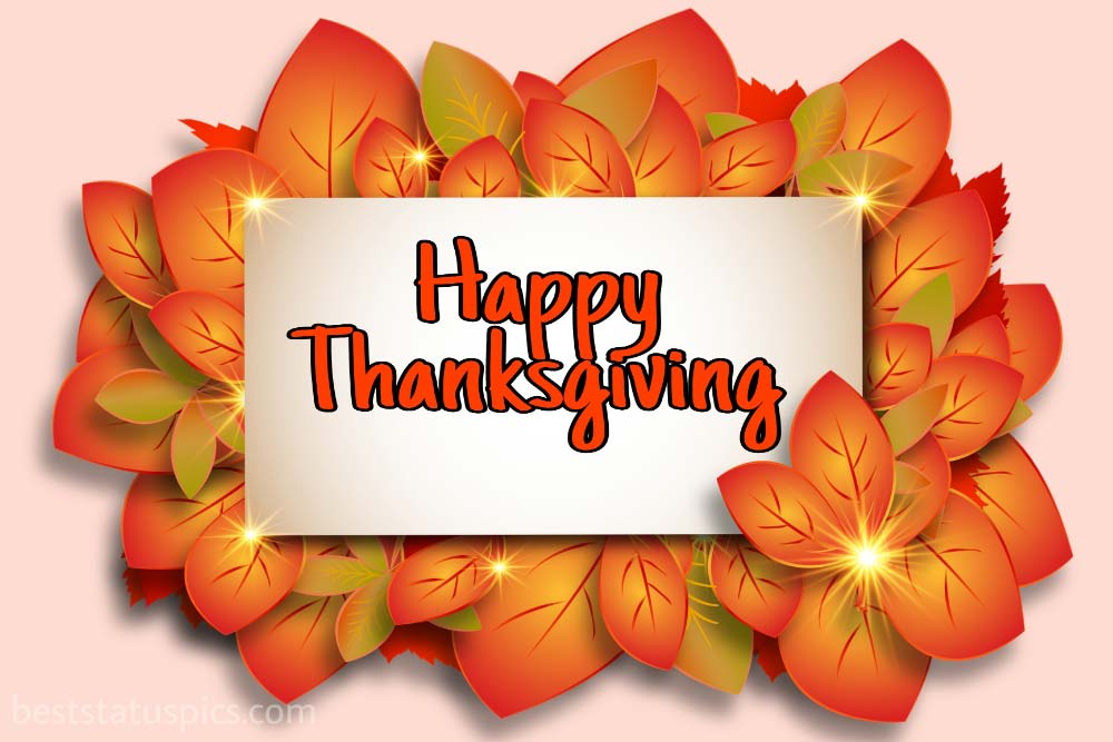 Happy Thanksgiving 2021 ecard and image