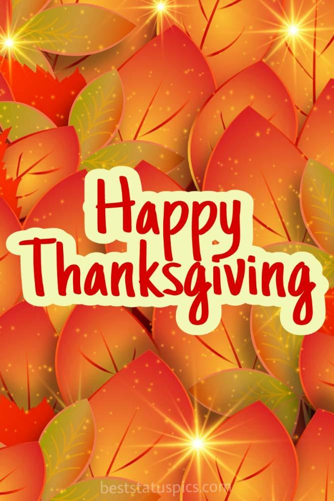 Happy Thanksgiving 2021 greetings