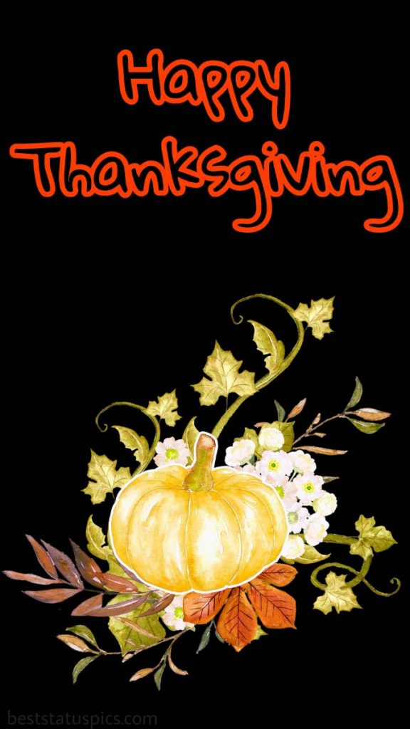 Happy Thanksgiving 2021 wishes picture for facebook