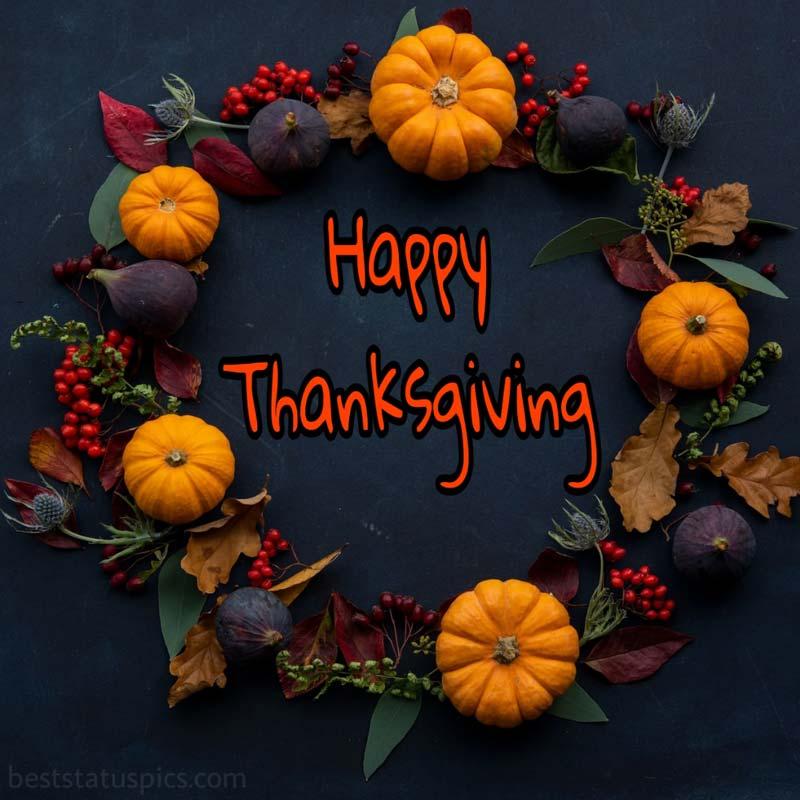 Happy Thanksgiving 2021 greeting pic