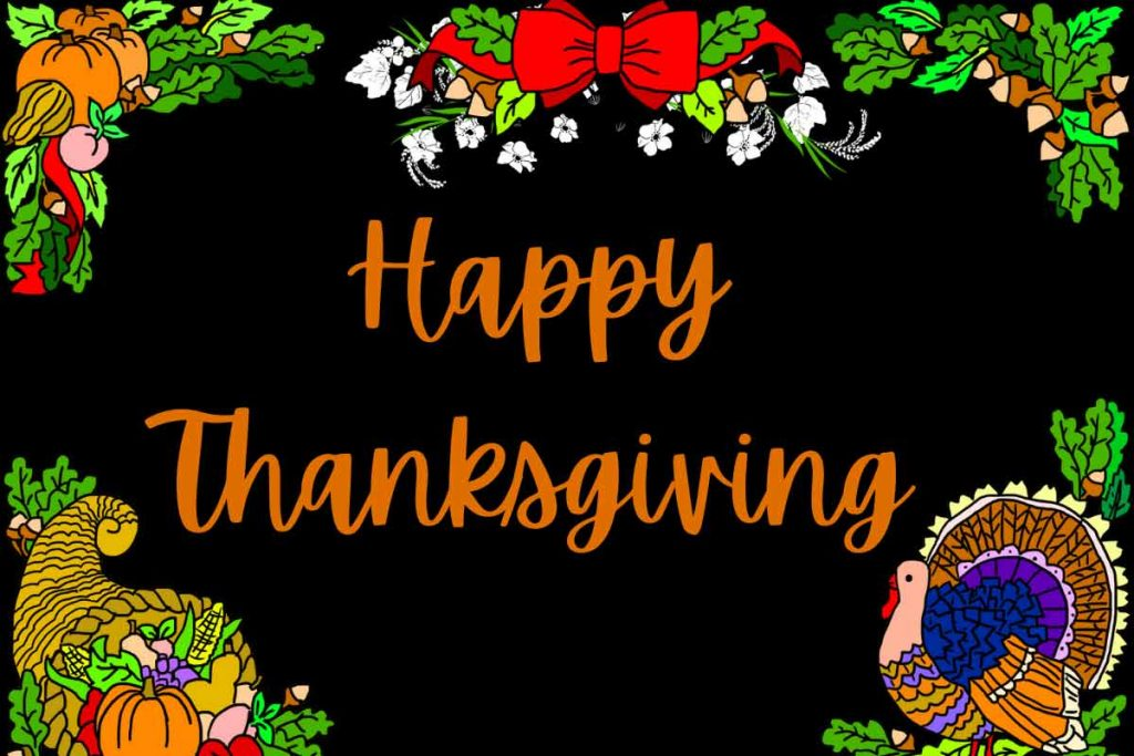 Happy thanksgiving 2021 wishes images HD and greetings