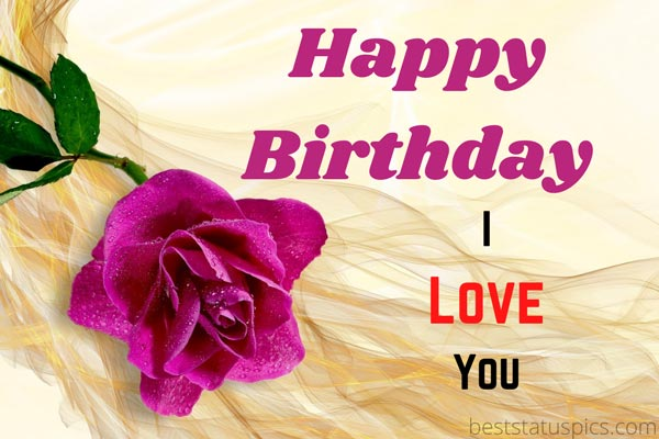 Happy Birthday Roses Images and Greeting Cards For Lovers