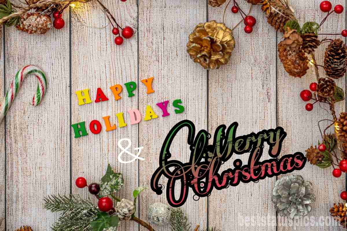 Merry Xmas and Happy Holidays 2022 wishes images