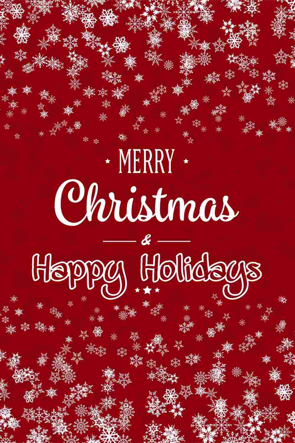 Merry Christmas and Happy Holidays 2022 greetings, images and cards for Whatsapp DP