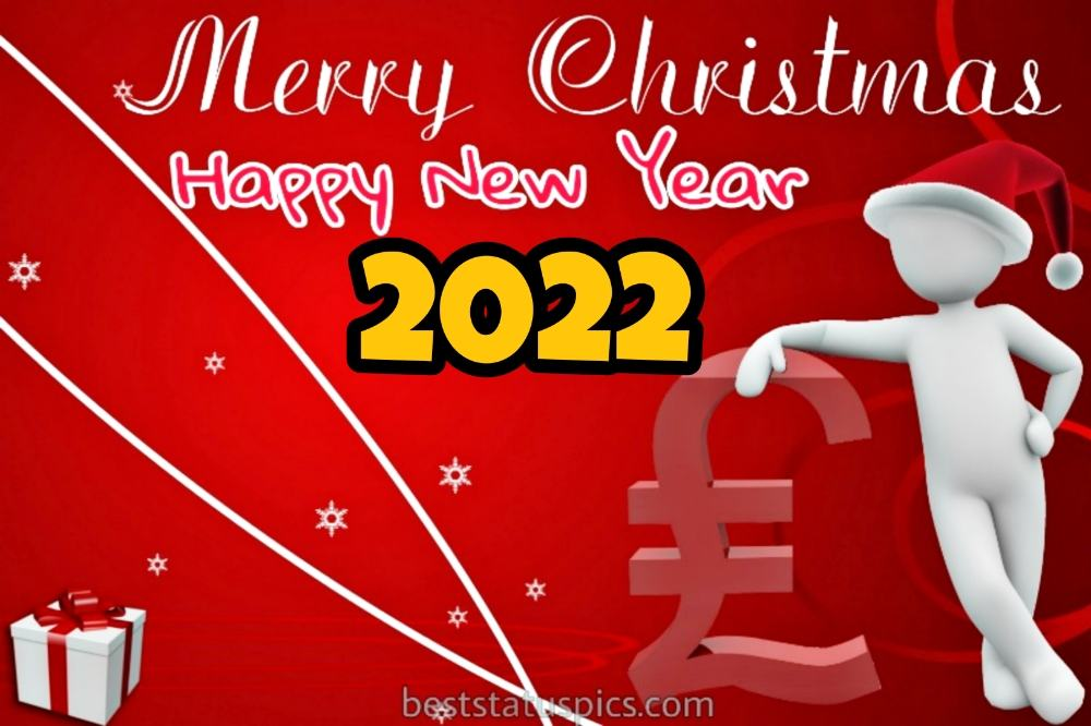Funny Happy New Year 2022 and Merry Christmas images for friend