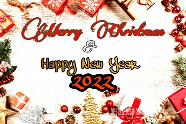 Happy New Year Merry Christmas 2022: Wishes Images, Greetings, Cards