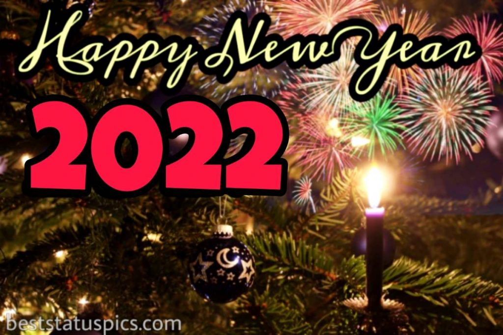 Happy new year 2022 images with firework
